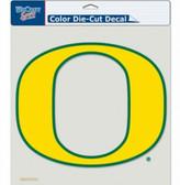 "Oregon Ducks Die-Cut Decal - 8""x8"" Color"