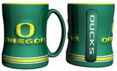 Oregon Ducks Coffee Mug - 15oz Sculpted