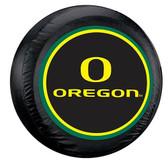Oregon Ducks Black Spare Tire Cover