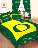 Oregon Ducks Bed-in-a-Bag with Reversible Comforter -Full