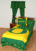 Oregon Bed in a Bag King - With Team Colored Sheets
