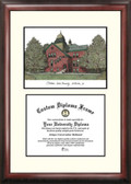 Oklahoma State University Scholar Framed Lithograph with Diploma