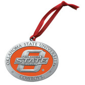 Oklahoma State Cowboys Logo Ornament