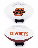 Oklahoma State Cowboys Full Size Embroidered Football