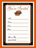 Oklahoma State Cowboys Formal Invitations