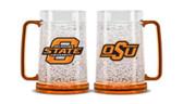 Oklahoma State Cowboys Crystal Freezer Mug