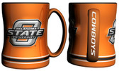 Oklahoma State Cowboys Coffee Mug - 15oz Sculpted