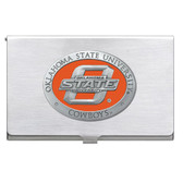 Oklahoma State Cowboys Business Card Case Set
