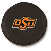Oklahoma State Cowboys Black Tire Cover, Small