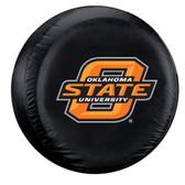 Oklahoma State Cowboys Black Spare Tire Cover