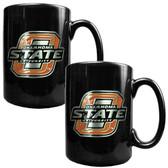Oklahoma State Cowboys 2pc Coffee Mug Set