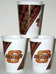 Oklahoma State Cowboys 16 oz Cups