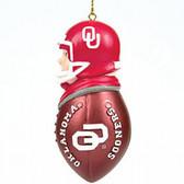 Oklahoma Sooners Tackler Ornament