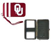 Oklahoma Sooners Shell Wristlet