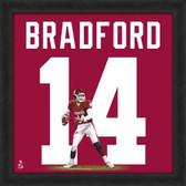Oklahoma Sooners Sam Bradford 20x20 Framed Uniframe Jersey Photo