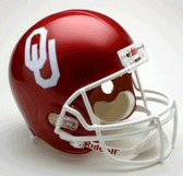 Oklahoma Sooners Riddell Deluxe Replica Helmet