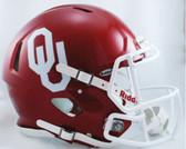 Oklahoma Sooners Revolution Speed Pro Line Helmet
