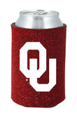 Oklahoma Sooners Kolder Kaddy Can Holder - Glitter