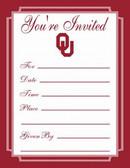Oklahoma Sooners Formal Invitations