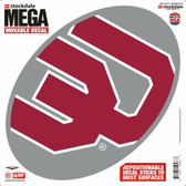 "Oklahoma Sooners Decal - 12""x12"" Mega"