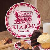Oklahoma Sooners Ceramic Plate