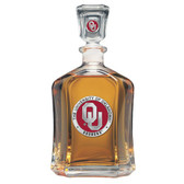 Oklahoma Sooners Capitol Decanter