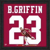 Oklahoma Sooners Blake Griffin 20x20 Framed Uniframe Jersey Photo