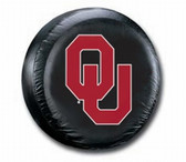 Oklahoma Sooners Black Spare Tire Cover