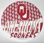 "Oklahoma Sooners 9"" Dinner Paper Plates"