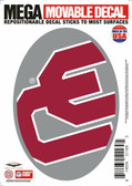 "Oklahoma Sooners 5""x7"" Mega Decal"