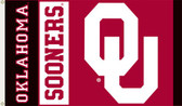 Oklahoma Sooners 3 Ft. x 5 Ft. Flag w/Grommets