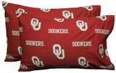 Oklahoma Printed Pillow Case - (Set of 2) - Solid