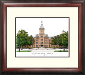 Ohio State University Alumnus Framed Lithograph
