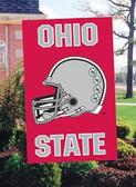 Ohio State helmet Buckeyes Banner Flag