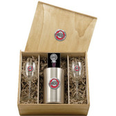 Ohio State Buckeyes Wine Set