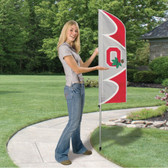 Ohio State Buckeyes Swooper Flag Kit