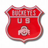 Ohio State Buckeyes Route Sign