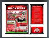 Ohio State Buckeyes Milestones & Memories Framed Photo
