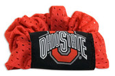 Ohio State Buckeyes Hair Twist Ponytail Holder
