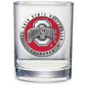 Ohio State Buckeyes Double Old Fashioned Glass Set