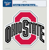 "Ohio State Buckeyes Die-Cut Decal - 8""x8"" Color"