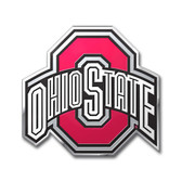 Ohio State Buckeyes Color Auto Emblem - Die Cut