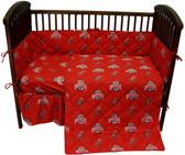 Ohio State Buckeyes Baby Crib Set