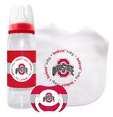 Ohio State Buckeyes Baby Gift Set