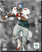 Ohio State Buckeyes Archie Griffin - 1973 Ohio State University Spotlight Action 16x20 Stretched Canvas