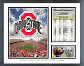 Ohio State 2010 Buckeyes Milestones & Memories Framed Photo