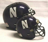 Northwestern Wildcats Micro Helmet