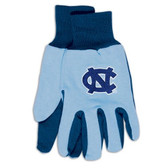 North Carolina Tar Heels Two Tone Gloves  - Adult