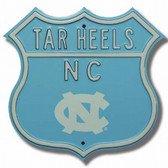 North Carolina Tar Heels Route Sign