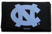 North Carolina Tar Heels Nylon Trifold Wallet